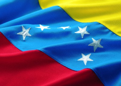 The flag of Venezuela. © Ocean/Corbis. Image no. 42-26271026