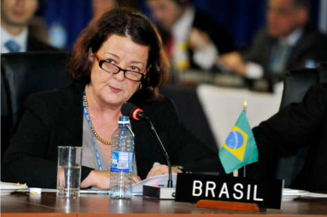 era Lúcia Barrouin Crivano at the Third Plenary Session of the Organization of American States.