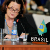 Vera Lúcia Barrouin Crivano, Under Secretary General for Policy in the Ministry of Foreign Affairs of Brazil